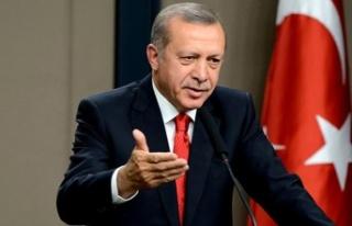 Cumhurbaşkanı Erdoğan'ın sözlerinin ardından...