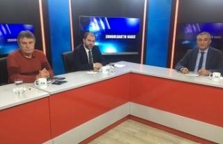 Gazeteciler Akay Turhan ve Mustafa Özdemir CANLI...