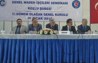 GMİS Kozlu şube kongresi yapıldı