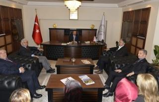 MHP'den rektör Çufalı'ya ziyaret