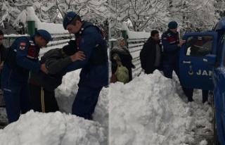 Nizamettin amcanın yardımına Jandarma yetişti!