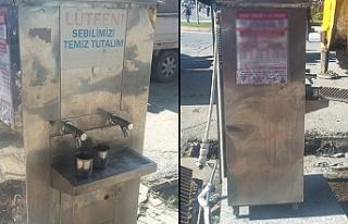 Osmanlı geleneği olan su sebilini geri istiyorlar...