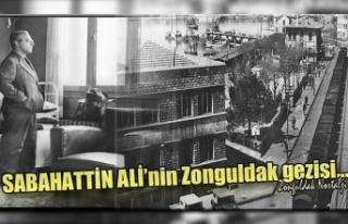 Sabahattin Ali'nin Zonguldak gezisi...