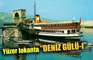 Yüzen lokanta 'Deniz Gülü 1'