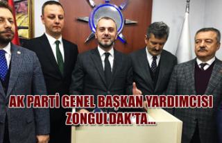Ak Parti Genel Başkan Yardımcısı Zonguldak'ta...