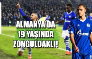 Almanya'da 19 yaşında Zonguldaklı!