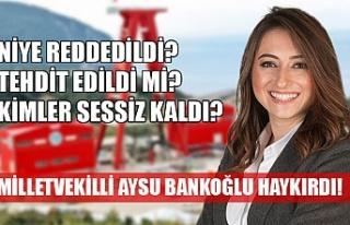 Aysu Bankoğlu haykırdı!