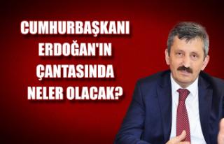 Cumhurbaşkanı Erdoğan'ın çantasında neler...