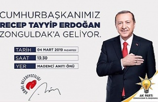 Cumhurbaşkanı Erdoğan'ın miting saati belli...