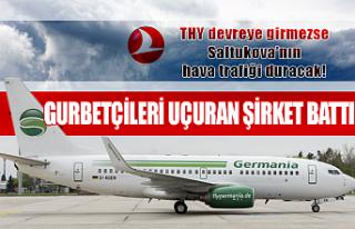 German Havayolları battı, Almanya Zonguldak hattı...