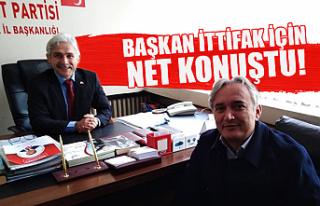 MHP İl Başkanı Varol AK Parti ile ittifak iddialarına...