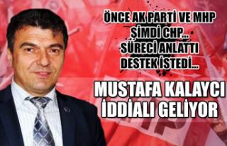 Mustafa Kalaycı iddialı geliyor! Önce Ak Parti...