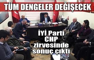 Tüm dengeler değişecek! İYİ Parti, CHP zirvesinde...