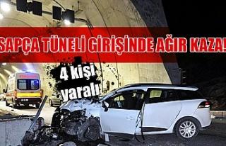 Tünelde kaza: Çok sayıda yaralı var!
