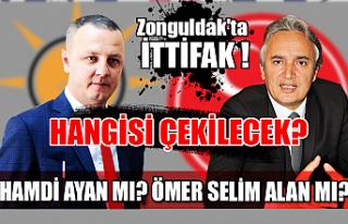 Zonguldak'ta ittifak! Hangisi çekilecek? Hamdi...