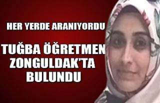 Zorla kaçırılan Tuğba Öğretmen Zonguldak'ta...
