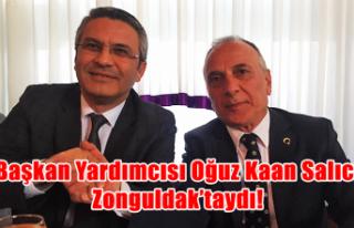 Başkan Yardımcısı Oğuz Kaan Salıcı Zonguldak'taydı!