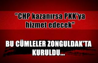 "Bu cümleler Zonguldak'ta kuruldu... ""CHP..."