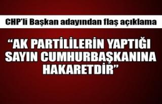 "CHP'li Başkan adayından flaş açıklama! ""..."