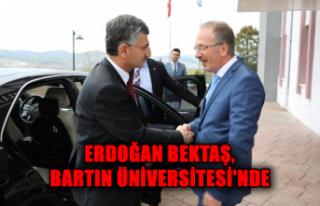 Erdoğan Bektaş, Bartın Üniversitesi'nde
