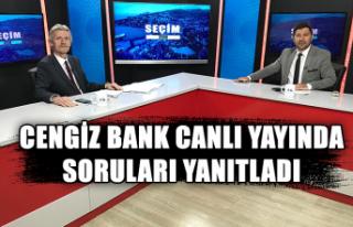 Kozlu'da neler oluyor? Cengiz Bank canlı yayında...