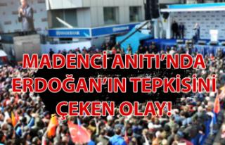 Madenci Anıtı'nda Erdoğan'ın tepkisini çeken...