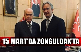MHP Genel Başkanı Devlet Bahçeli Zonguldak'a...