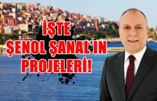 Şenol Şanal projelerini tanıttı…
