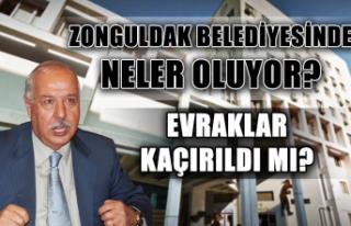 Zonguldak Belediyesinde neler oluyor? Evraklar kaçırıldı...