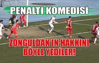 Zonguldak'ın hakkını böyle yediler!