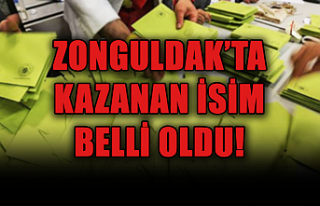 Zonguldak'ta kazanan belli oldu...