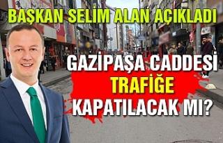 Başkan Selim Alan basınla buluştu