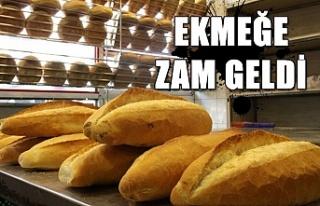 Ekmeğe zam geldi...