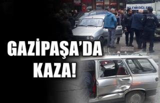 Gazipaşa'da kaza!