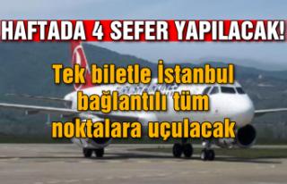 Haftada 4 sefer yapılacak! Tek biletle İstanbul...