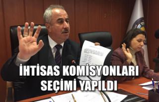 İhtisas Komisyonları seçimi yapıldı
