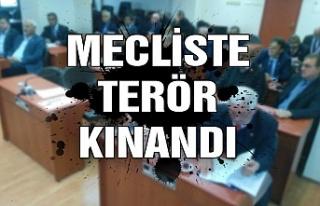 Mecliste terör kınandı