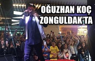 Oğuzhan Koç Zonguldak'ta...