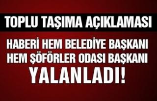 Osman Köksal Bahar'dan yalanlama!
