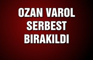 Ozan Varol serbest bırakıldı...