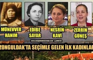 Seçimle gelen ilk kadınlar
