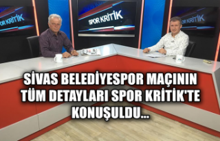 Sivas Belediyespor maçının tüm detayları Spor...