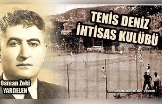 Tenis Deniz İhtisas Kulübü…