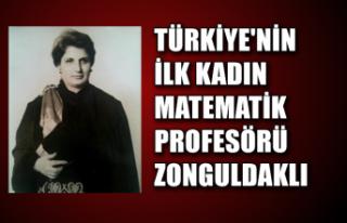 Türkiye'nin ilk kadın matematik profesörü...