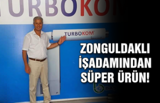 Zonguldaklı işadamından süper ürün!