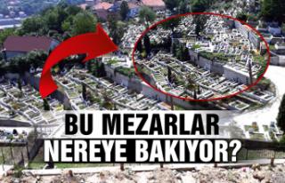 Bu mezarlar nereye bakıyor?