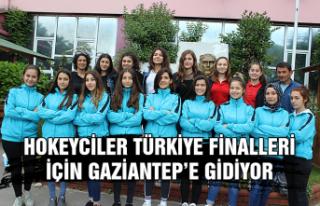Hokeyciler Türkiye finalleri için Gaziantep'e...