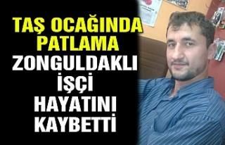 Taş ocağında patlama... Zonguldaklı işçi hayatını...