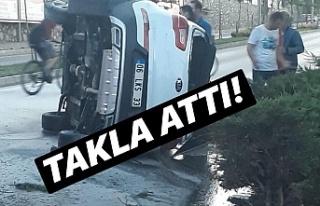 TERMİNAL KAVŞAĞINDA KAZA!