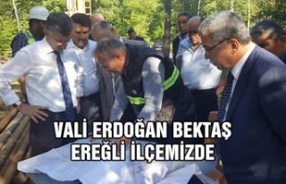 Vali Erdoğan Bektaş Ereğli ilçemizde